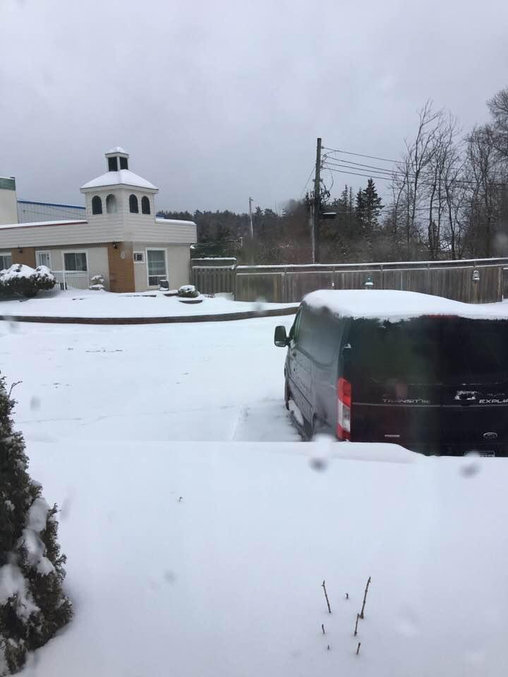 Snowed in, Bancroft Canada