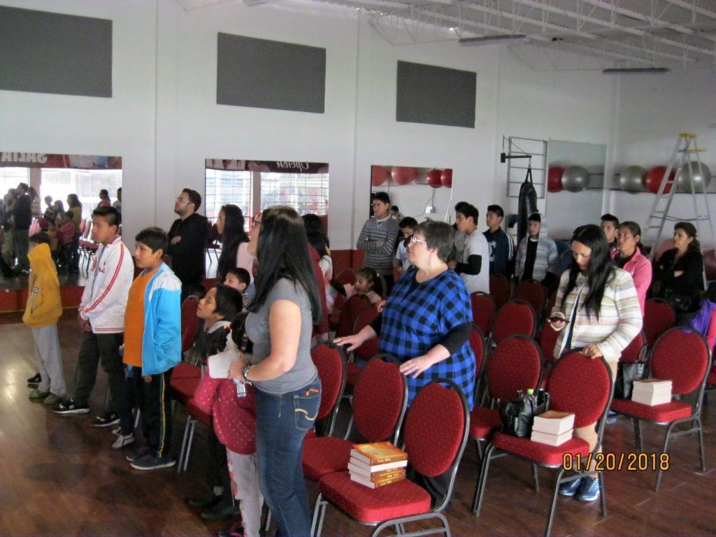 Worship in Peru